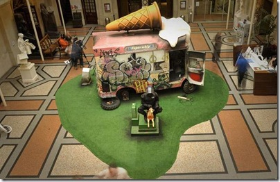 Banksy-icecream-van