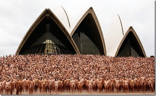Spencer Tunick sydney-0103